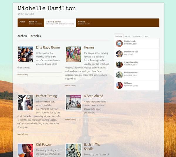 Michelle Hamilton Articles