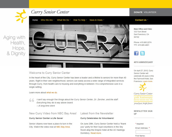 Curry Senior Center After