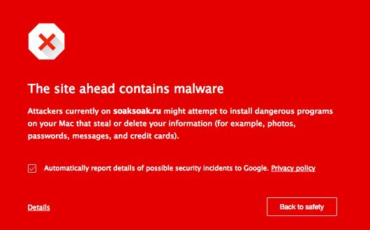 Google has blacklisted over 11,000 domains with this latest malware campaign from SoakSoak.ru