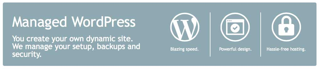Managed WordPress Hosting through Likoma. One-click restoration.