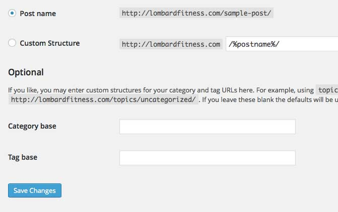 WordPress home page is fine, but all interior pages are giving 404 error.