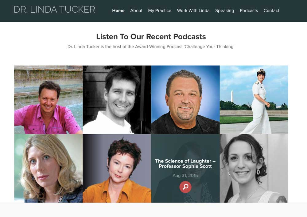 Dr. Linda Tucker. Have you ever wondered what successful people know that you don't?