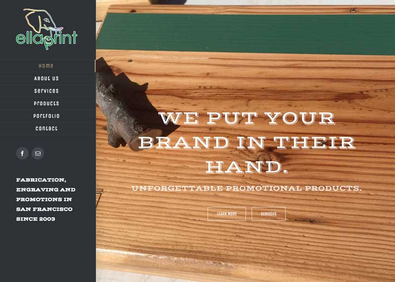 Ellaprint -- full service promotional products in San Francisco.