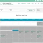 Avada using the built-in calendar plugin.