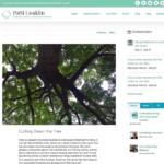 Single blog post.