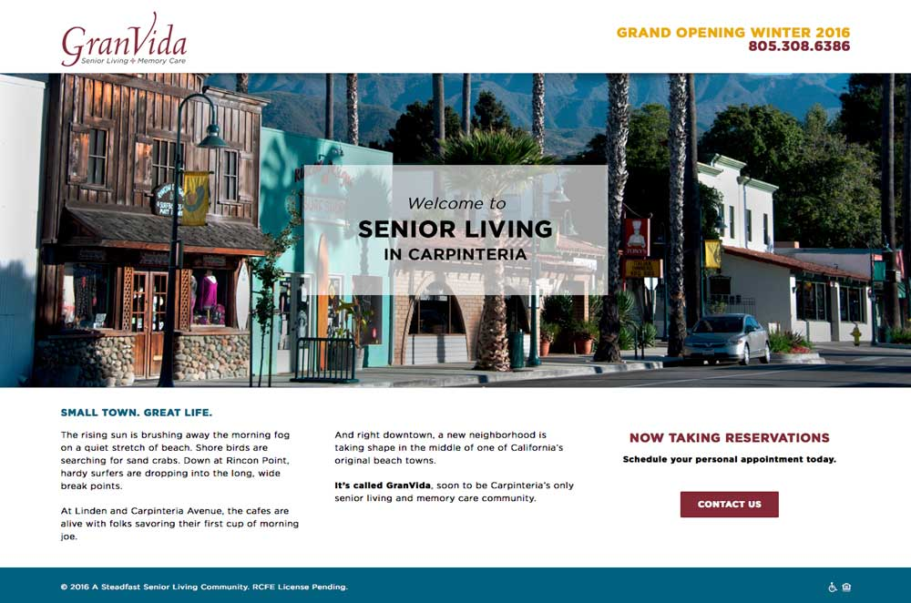 New senior living development chooses Avada