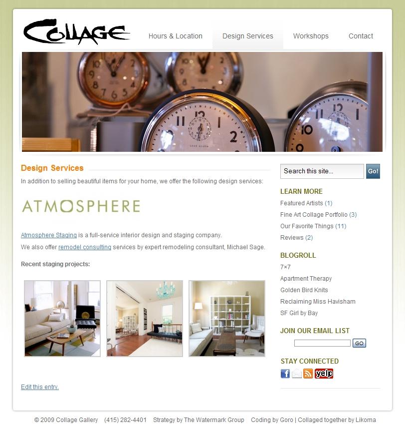 Delisa Sage's Collage Gallery